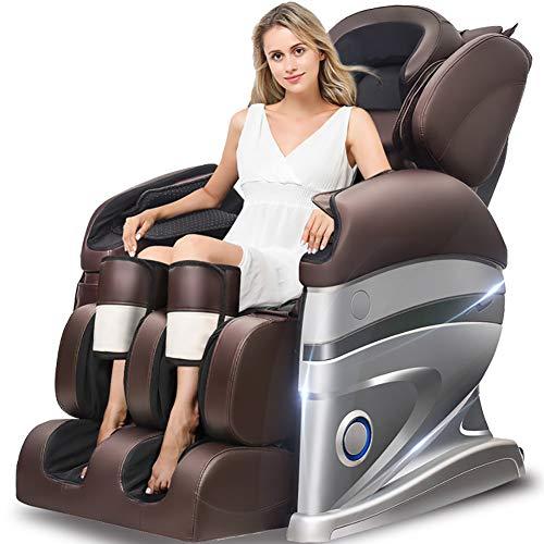 Preisvergleich Produktbild HONG YJ838-3I Elektrischer Massagestuhl,  3D-Surround-Sound - Luftmassagegeräte - Schwerelosigkeit - Wärmemassage in der rückrollenden Knetmassage kann die von Körperschmerzen reduzieren