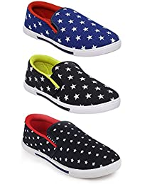 Scantia New Latest Fashionable With Stylish Attractive Look Men/Boys Combo Casual Trendy Shoes Comfortable To... - B078ZBBKYT