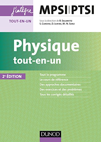 Physique tout-en-un MPSI-PTSI - 2e éd