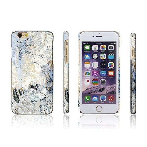 Levanpro Coque Dessin de Marbre Slim Coque Housse Etui Hard Case Imprimer Cristal pour iPhone 6/6s F