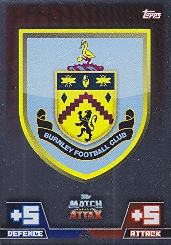 Match Attax 2014 2015 Burnley Club Badge 14 15