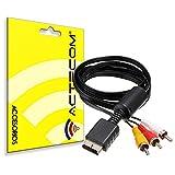 ACTECOM Cable RCA Audio Video para TV Playstation PS3 PS2 PS1 PSX AV...