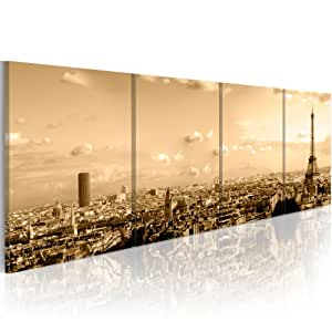 impression sur toile 200x90 cm grand format 4 pieces image sur toile images photo. Black Bedroom Furniture Sets. Home Design Ideas