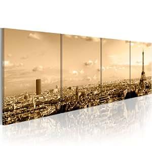 impression sur toile 200x90 cm grand format 4 pieces. Black Bedroom Furniture Sets. Home Design Ideas