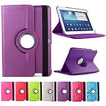 """Funda para Tablet Bq Edison 3 10.1"""" Quad Core. Giratoria 360º Color MORADO"""