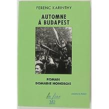 Automne à Budapest