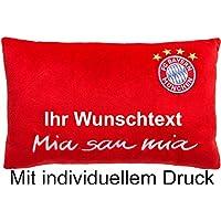 FC Bayern München Nikkikissen mit Ihrem Wunschtext in Ihrer Wunschfarbe
