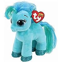 TY 36666Topaz Pony Green 15cm Beanie Boo's-Multi-Colour