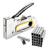 JJOnlineStore? pistola grapadora de acero para tapicería para grapas de 4/6/8mm, con 2500grapas gratis.