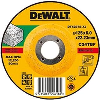 DeWalt DT42573-XJ Disco de corte plano para piedra