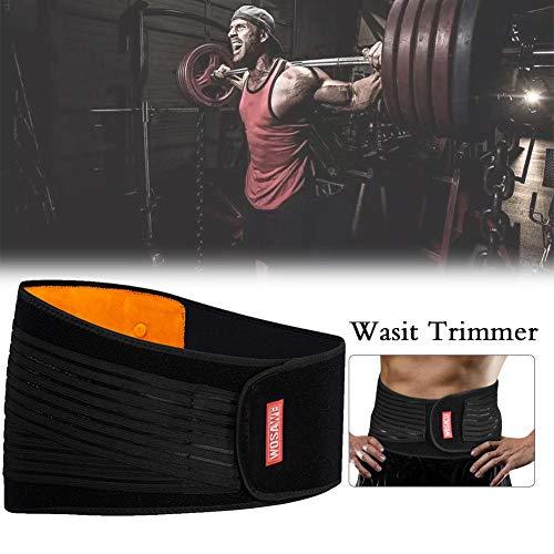 Bulary Taille Trimmer Gürtel Slim Body Sweat Wrap Frauen Abnehmen Gürtel Taille Trainer Fitness Workout Body Shaper Gürtel Für Bauch Und Rücken Lordosenstütze -