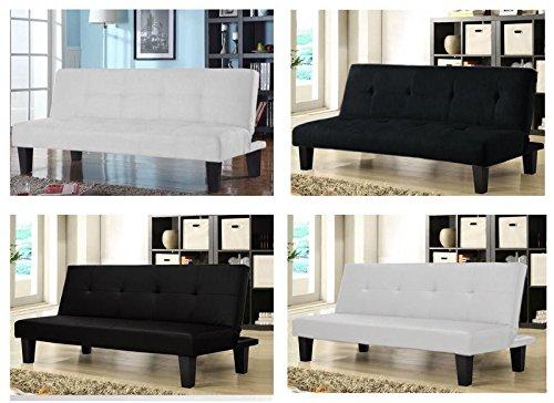 Divano letto 164x75 da 3 posti reclinabile salotto casa - ufficio - spessorato
