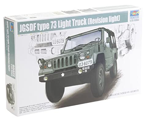 Trumpeter 05572–1/35Jgsdf type 73Light Truck (Révision Light)