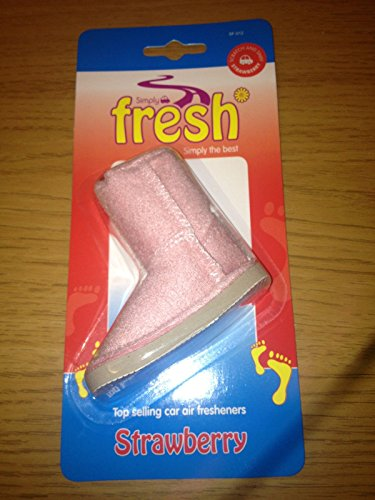 car-home-work-caravan-fresh-scented-hanging-3d-ugg-boot-air-freshener-pink-strawberry