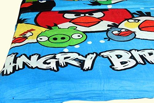 Kuber Industries Angry Birds Full size reversibile