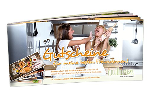 Vouchers For My Best Friend: The Coupon Book for Her/Girls. With 10 Single Vouchers to tear off and Gift. por Rinco Albert