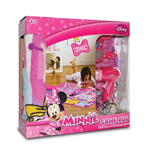 Disney Minnie Mouse Pet Salon Interactive Game Rug by Disney