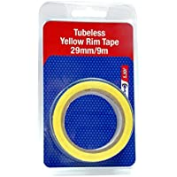 JOE'S NO FLAT Cinta tubless Amarillo 21 mm Nylon Reinforced Spoke Tape 21 mm