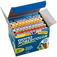 Giotto Robercolor Tizas, 100 Unidades, Colores Surtidos (Iconn 5390)