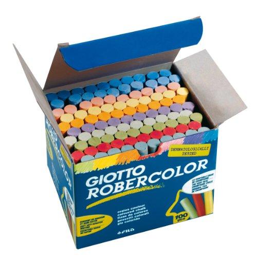 RoberColor Wandtafelkreide, 100 Stück farbig sortiert