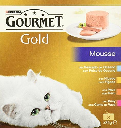 Gourmet - Alimento para Gato - Húmedo - Gold Mousse Pack Surtido 680