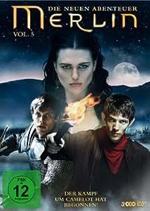 Merlin - Die neuen Abenteuer, Vol. 05 [3 DVDs]