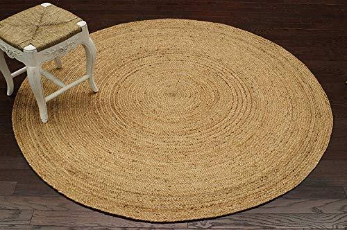 Icrafty Teppich, handgeflochten, 2 x 2 (60 x 60 cm) -