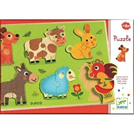 Puzzle Incastri in Legno – Coucou-cow