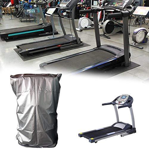 bulrusely Laufband, Staubschutzhülle, schwere Fitness-Ausrüstung, wasserdicht, geeignet für die Verwendung im Innen- oder Außenbereich (silberfarben) 95 110 160 cm (Laufband Fitness Lebensdauer)
