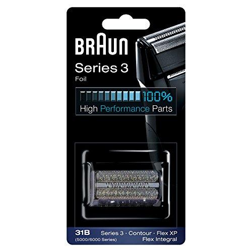 Braun Pièce de Rechange 31B Noire pour Rasoir Compatible avec les Rasoirs...