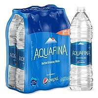 Aquafina Bottled Drinking Water - 1.5 Litre  (Pack of 6)