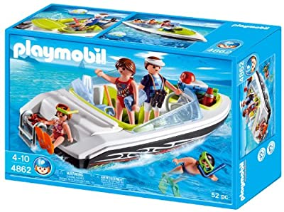 Playmobil 4862 - Vacaciones: lancha familiar de Playmobil