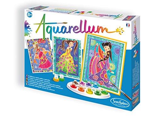 Sentosphère - Aquarellum: Chicas glamourosas (0756330)