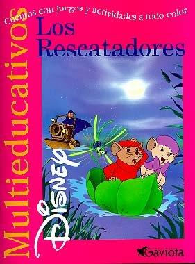 Los Rescatadores: cuentos con juegos y actividades a todo color