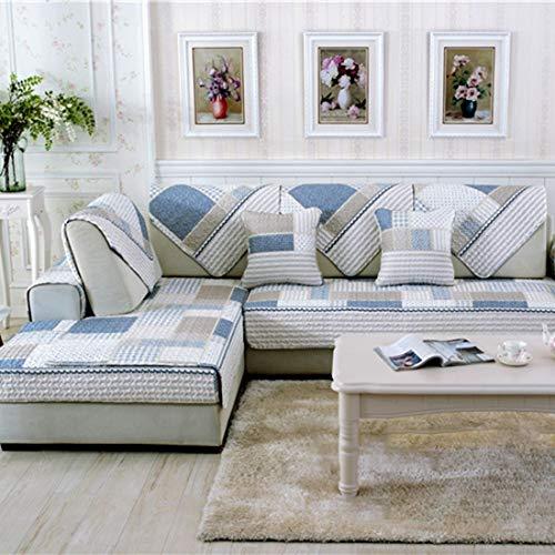 Vier Jahreszeiten Moderne Sofa Möbel Couch Sitze Matte Baumwolle Rutschfeste Abdeckung Schutzpolster Gedruckt Gesteppte Matten Handtuch 70 * 70 cm - Kroatien Stil 70 * 70 cm