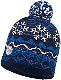 Original Buff - Knitted & Polar Hat Solid Unisex Adulto, Talla Unica, Color Vail Dark Navy/Navy