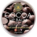 #2: SolaceDeArtisan COCOA ORGANIC LIP BALM (Super Value Pack 15g) (Lasts all day)- Cocoa butter and Vanilla Essential oil- Healing and Nourishing- Premium Handcrafted from 100% Natural Ingredients (Biggest pack in Market- FOOD SAFE, Paraben free, Sulphate free, Preservative free)