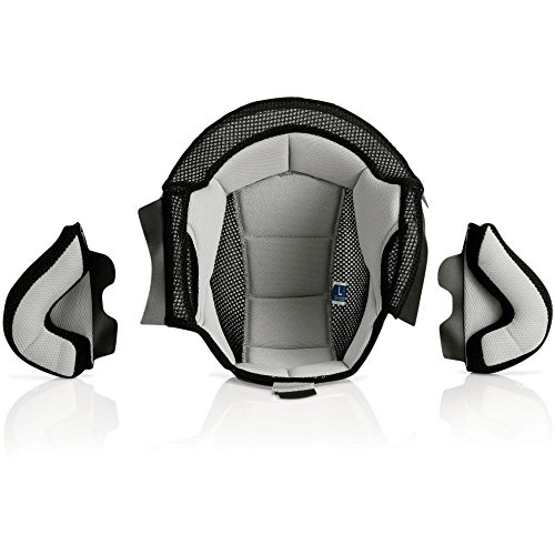 Preisvergleich Produktbild INNEN ERSATZTEIL FÜR CASCO X-JET grau / schwarz L