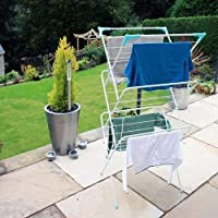 Aspect Foldable 3 Tier Airer | Laundry Racks | Special for Baby Clothes Drying Indoor | Expandable 3 Tiers Clothes…