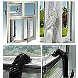 AirLock Fensterdichtung für mobile Klimaanlagen und Ablufttrockner Heißluftstopp