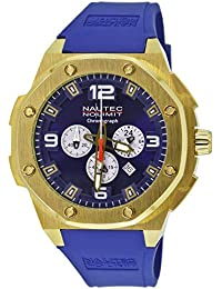 Nautec No Limit Herren-Armbanduhr XL Sailfish Analog Quarz Kautschuk SF QZ/RBGDGDBL
