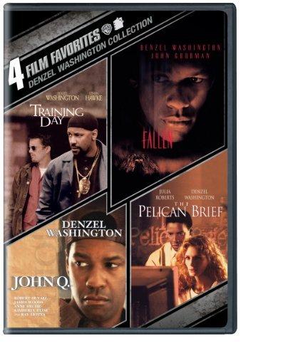 4 Film Favorites: Denzel Washington (Fallen, John Q, The Pelican Brief, Training Day) by Denzel Washington