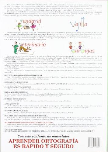 Copertina del libro Ortografía Ideovisual Nivel 2º - Cuarta Edición
