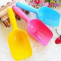 flowerkui Creative niños playa juguetes playa cuchara juego de diseño de pala de playa arena herramientas