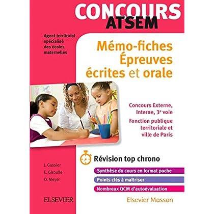 Concours ATSEM - Mémo-fiches: Ecrit et Oral - L'essentiel à retenir