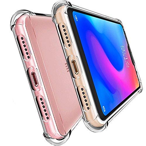 HUUH Funda Xiaomi Redmi Note 6/Xiaomi Redmi Note 6 Pro, Slim,TPU de Alta Transparencia Cubierta Protectora,sin deformación,Duradero,Cuatro Esquinas engrosadas