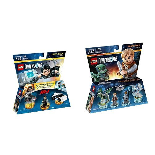 Price comparison product image LEGO Dimensions Mission Impossible Level Pack +  Jurassic World Team Pack