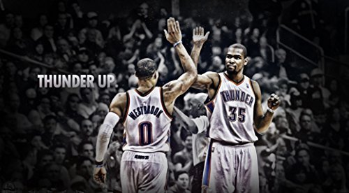 Kevin Durant poster 43 inch x 24 inch / 24 inch x 13 inch by bribase shop