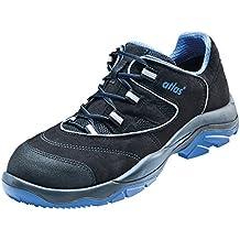 Atlas Chaussure De Sécurité Esd 42 Sl Bleu Dans La Gamme 10 Selon La Norme Iso 20345 De Src S1, Noir, Taille 43