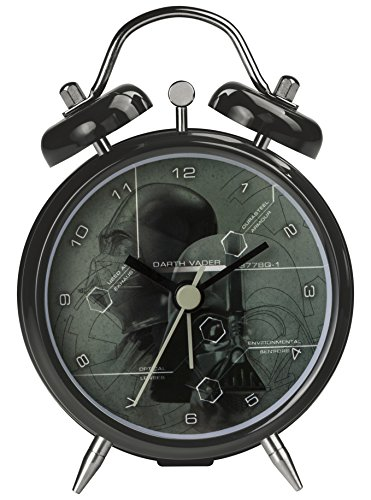 STAR WAR DARTH VADER Mini Twin Bell Alarm Clock